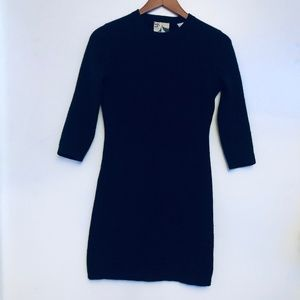 Barney's Co-op Black 100% Cashmere Dress XS/S